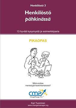 Tuominen, Kari - Henkilöstö pähkinässä, e-kirja
