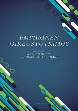 Nieminen, Kati - Empiirinen oikeustutkimus, e-kirja
