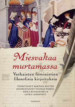 Parsio, Tuomas - Miesvaltaa murtamassa: Varhaisten feministien filosofisia kirjoituksia, e-kirja