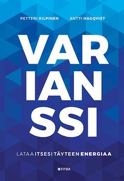 Hagqvist, Antti - Varianssi: Lataa itsesi täyteen energiaa, e-kirja