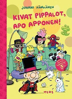 Känkänen, Juhani - Kivat pippalot, Apo Apponen, e-kirja