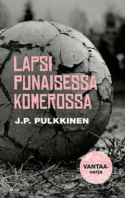 Pulkkinen, J.P. - Lapsi punaisessa komerossa, ebook