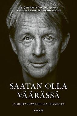 Lindeblad, Björn Natthiko - Saatan olla väärässä, e-bok