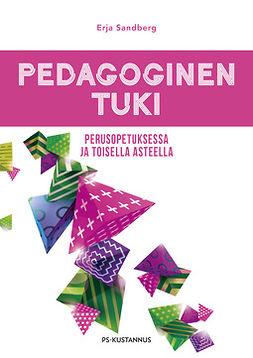 Sandberg, Erja - Pedagoginen tuki perusopetuksessa ja toisella asteella, e-kirja