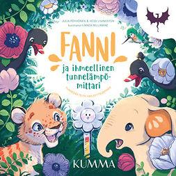 Pöyhönen, Julia - Fanni ja ihmeellinen tunnelämpömittari -kuvaäänikirja: Tunnesäätelyn harjoitteleminen, ebook