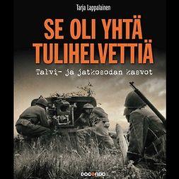 Lappalainen, Tarja - Se oli yhtä tulihelvettiä: Talvi- ja jatkosodan kasvot, äänikirja