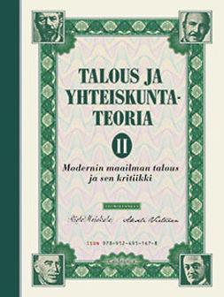 Heiskala, Risto - Talous ja yhteiskuntateoria 2: Modernin maailman talous ja sen kritiikki, e-kirja