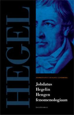 Lindberg, Susanna - Johdatus Hegelin Hengen fenomenologiaan, e-kirja