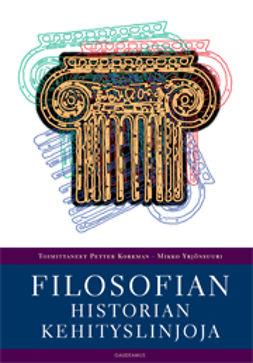 Korkman, Petter - Filosofian historian kehityslinjoja, e-kirja