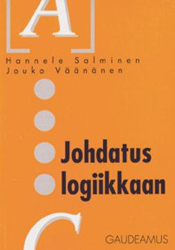 Salminen, Hannele - Johdatus logiikkaan, ebook
