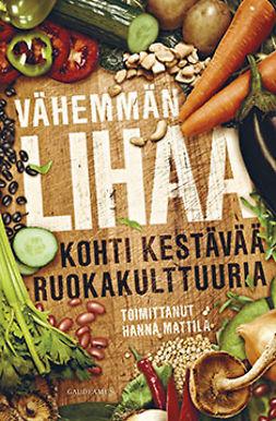 Mattila, Hanna - Vähemmän lihaa: Kohti kestävää ruokakulttuuria, e-bok
