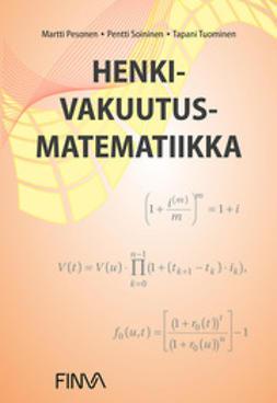 Pesonen, Martti - Henkivakuutusmatematiikka, e-kirja