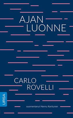Rovelli, Carlo - Ajan luonne, ebook