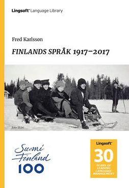 FINLANDS SPRÅK 1917–2017