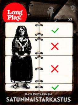 Satunnaistarkastus - (Long Play ; 53)