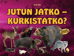 Salo, Antti - Jutun jatko – kurkistatko?, e-kirja
