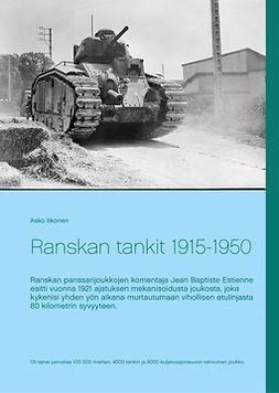 Itkonen, Asko - Ranskan tankit 1915-1950, e-kirja