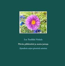 Niskala, Lea Tuulikki - Päivän pähkinöitä ja muita juttuja: Ajatuksia arjen pienistä asioista, e-bok
