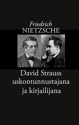 Korkea-aho, Risto - David Strauss uskontunnustajana ja kirjailijana, e-kirja