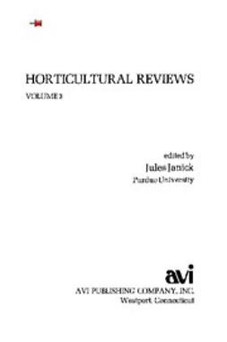 - Horticultural Reviews, V. 3, ebook