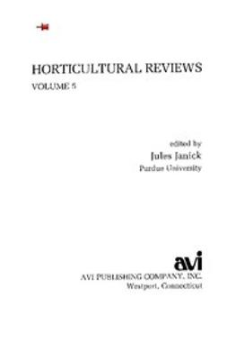 - Horticultural Reviews, V. 5, ebook