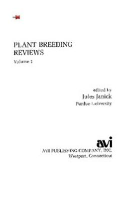 - Plant Breeding Reviews, Volume 1, ebook