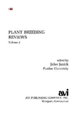 - Plant Breeding Reviews, Volume 2, ebook