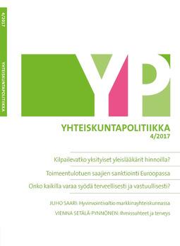 - Yhteiskuntapolitiikka 4/2017, e-kirja