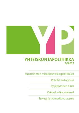 - Yhteiskuntapolitiikka 6/2017, e-kirja