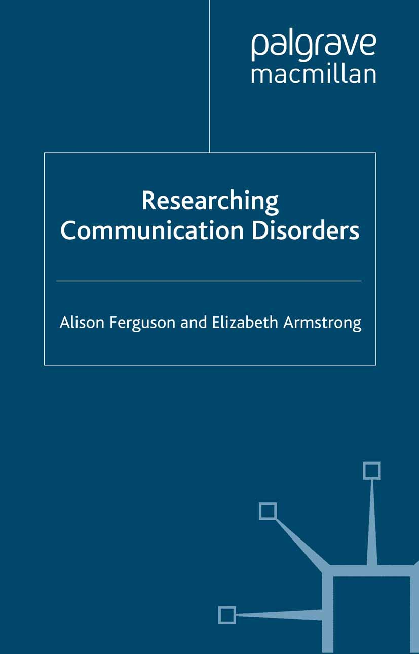 Armstrong, Elizabeth - Researching Communication Disorders, ebook