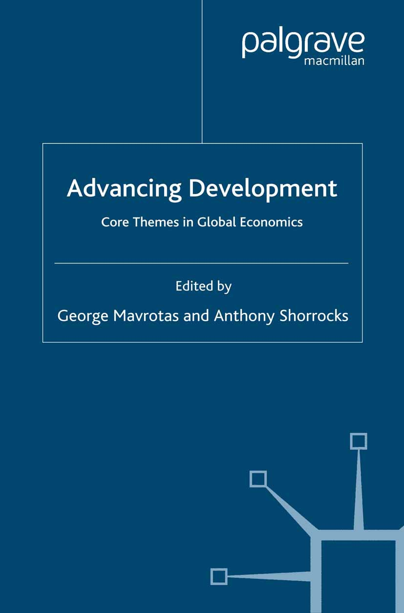 Mavrotas, George - Advancing Development, e-bok