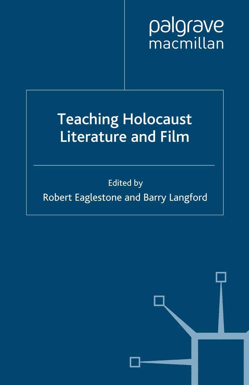 Eaglestone, Robert - Teaching Holocaust Literature and Film, ebook