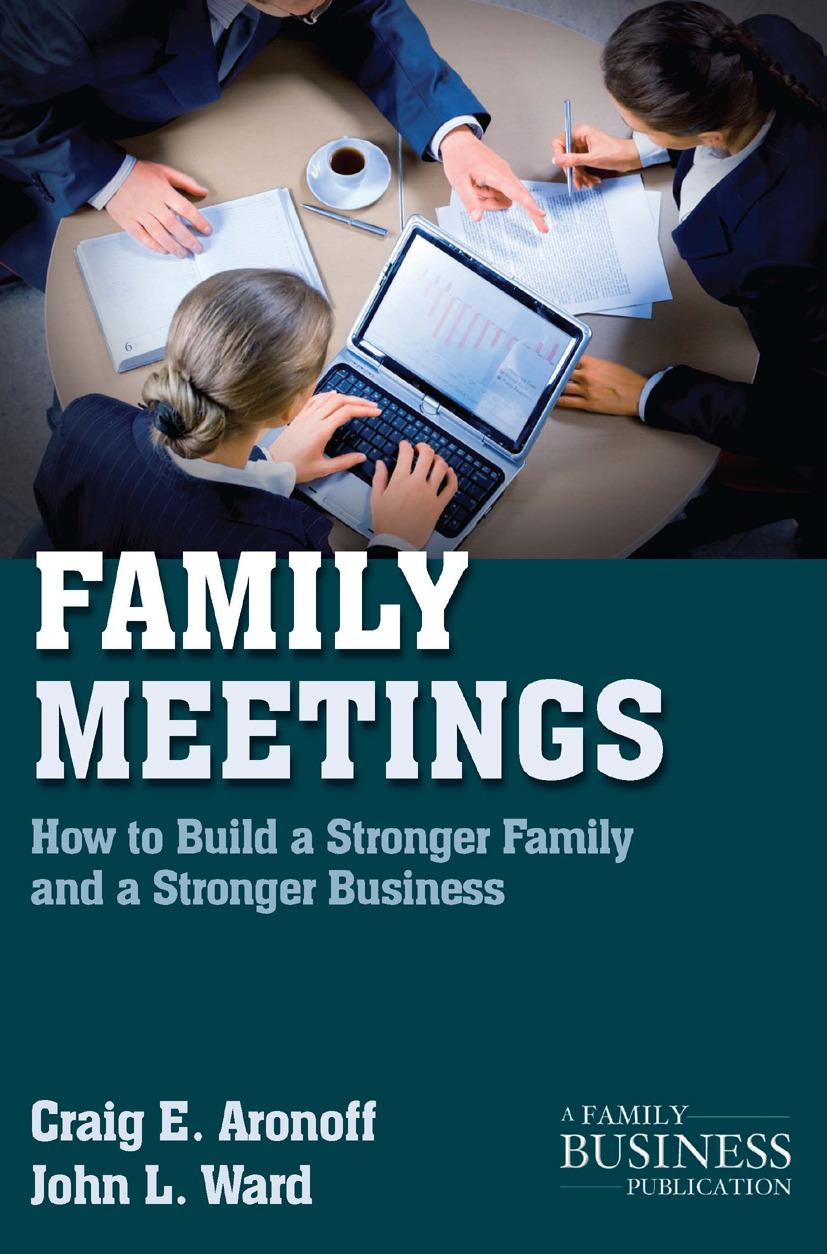 Aronoff, Craig E. - Family Meetings, ebook