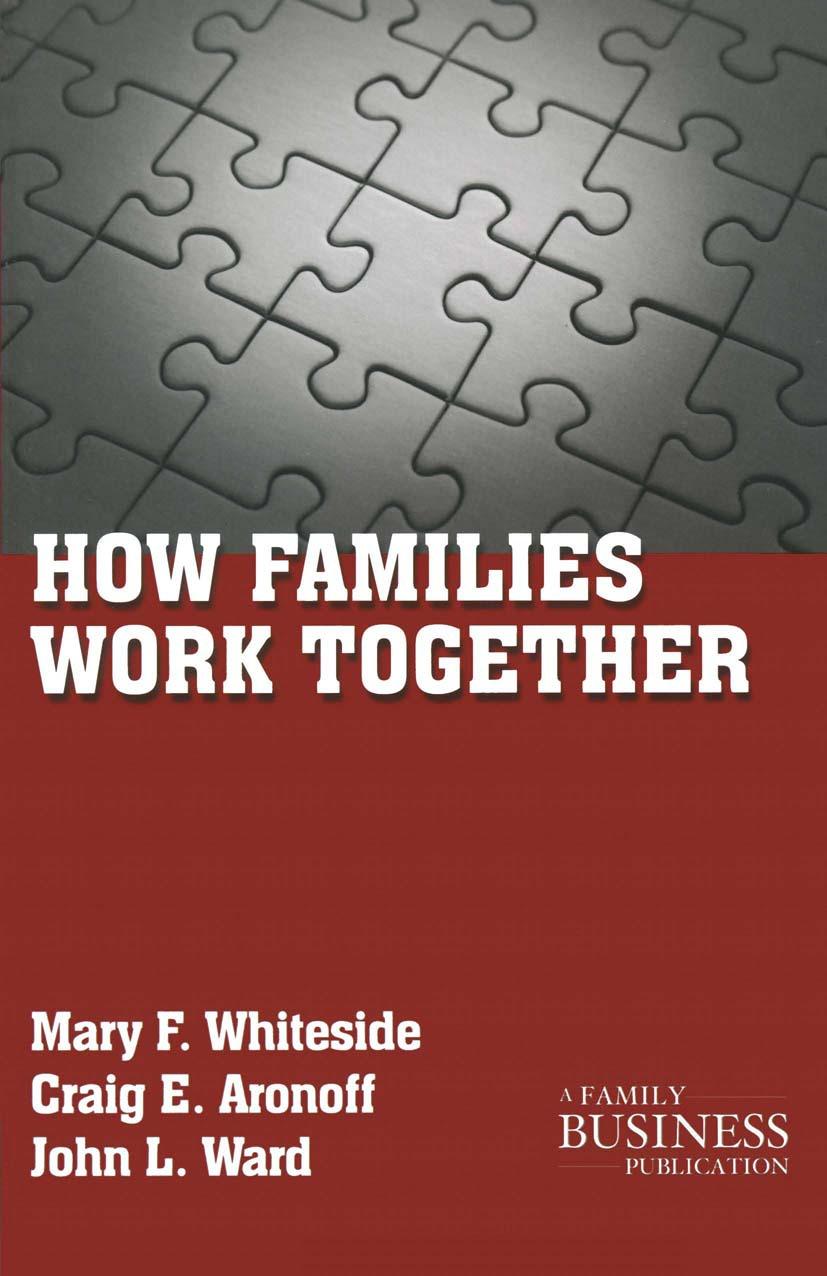 Aronoff, Craig E. - How Families Work Together, ebook