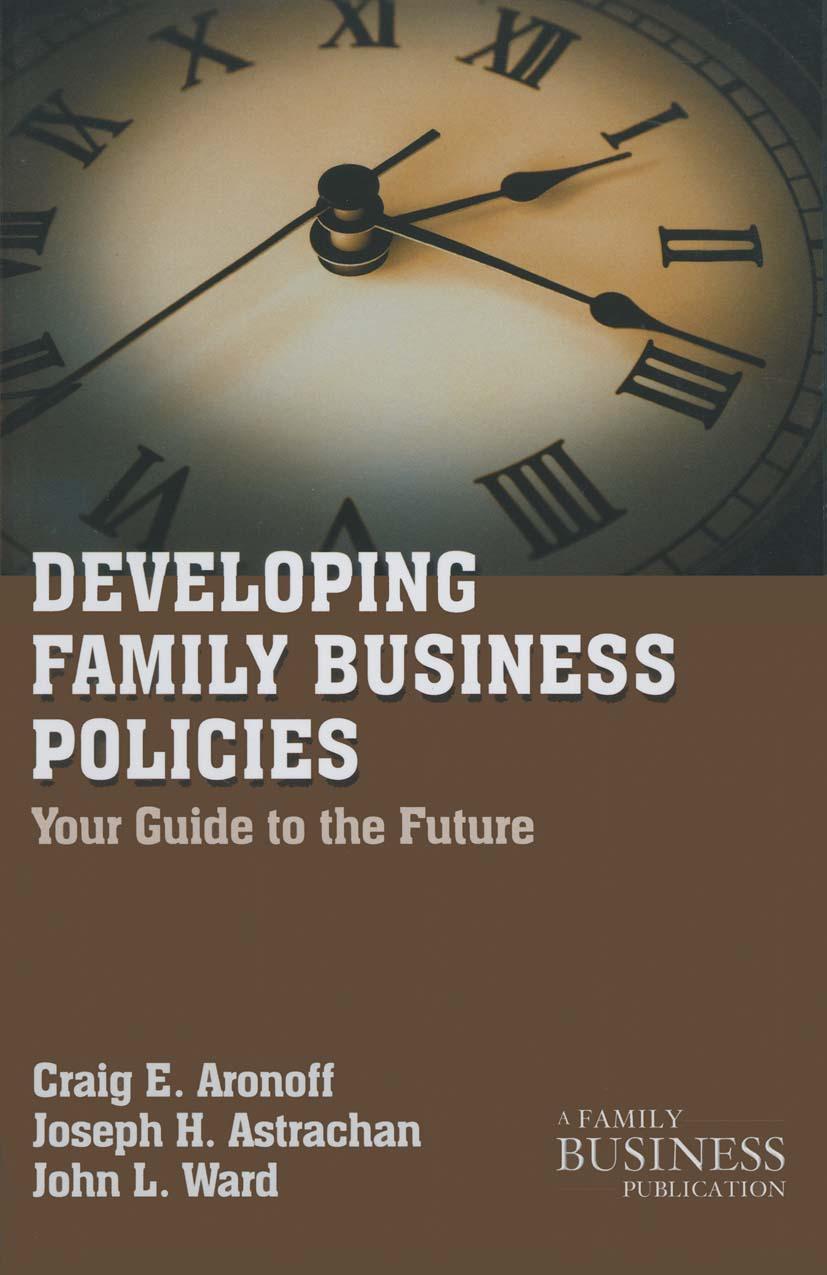 Aronoff, Craig E. - Developing Family Business Policies, ebook