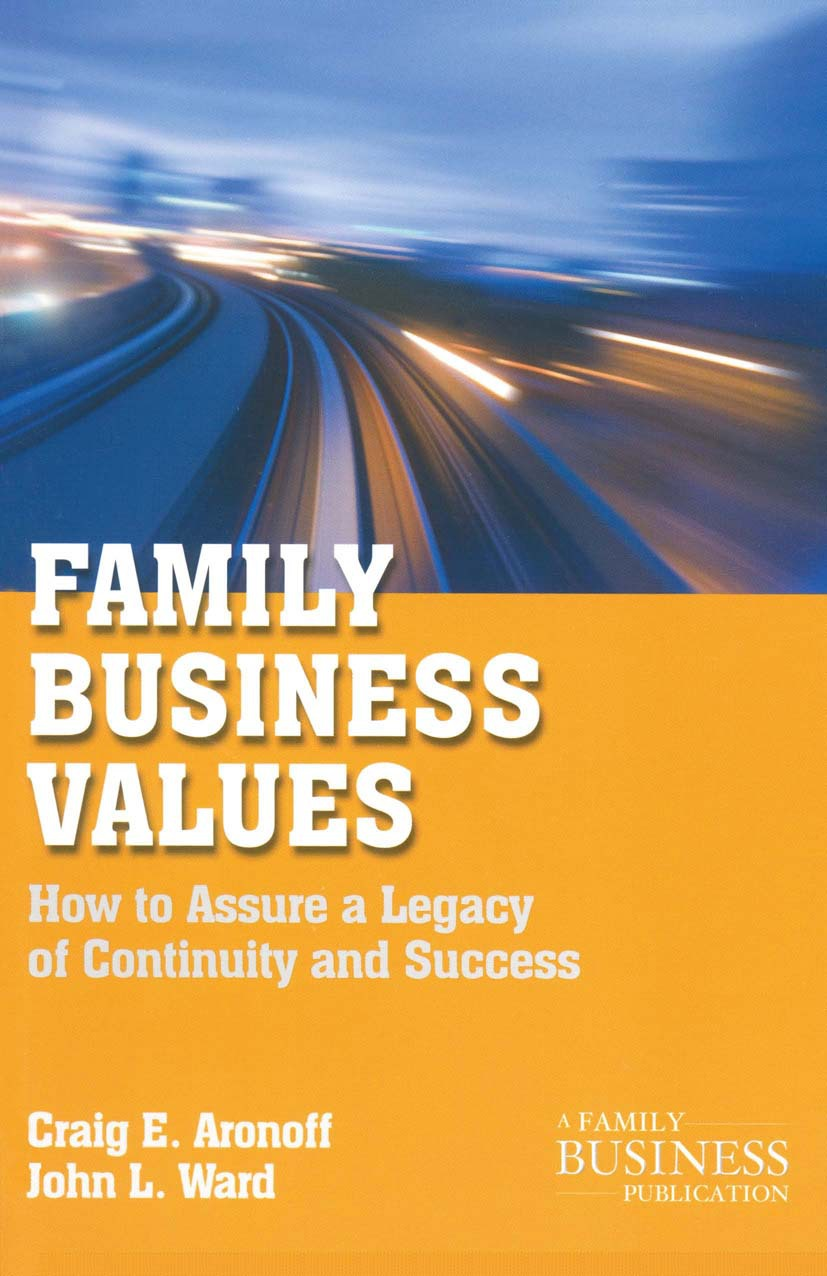Aronoff, Craig E. - Family Business Values, ebook