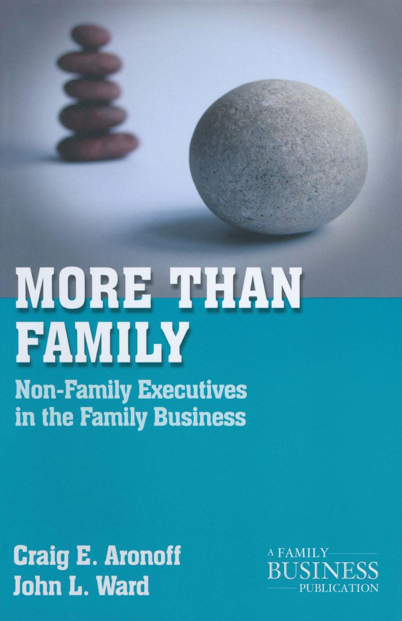Aronoff, Craig E. - More than Family, ebook