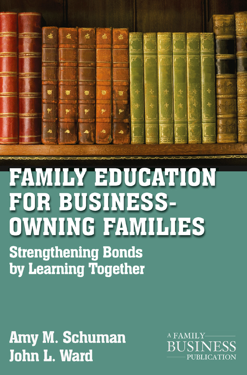 Schuman, Amy M. - Family Education for Business-Owning Families, ebook