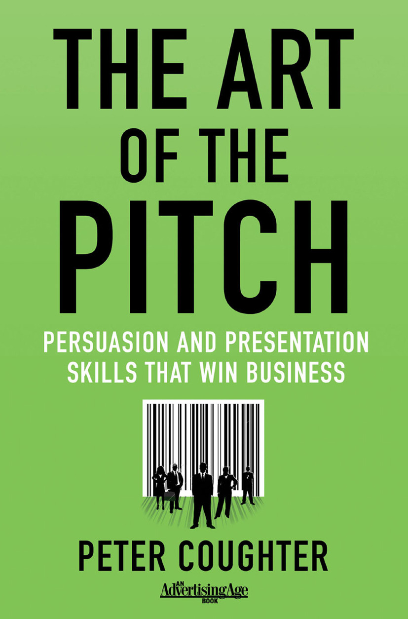 Coughter, Peter - The Art of the Pitch, ebook
