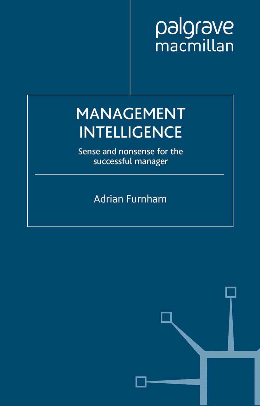 Furnham, Adrian - Management Intelligence, ebook
