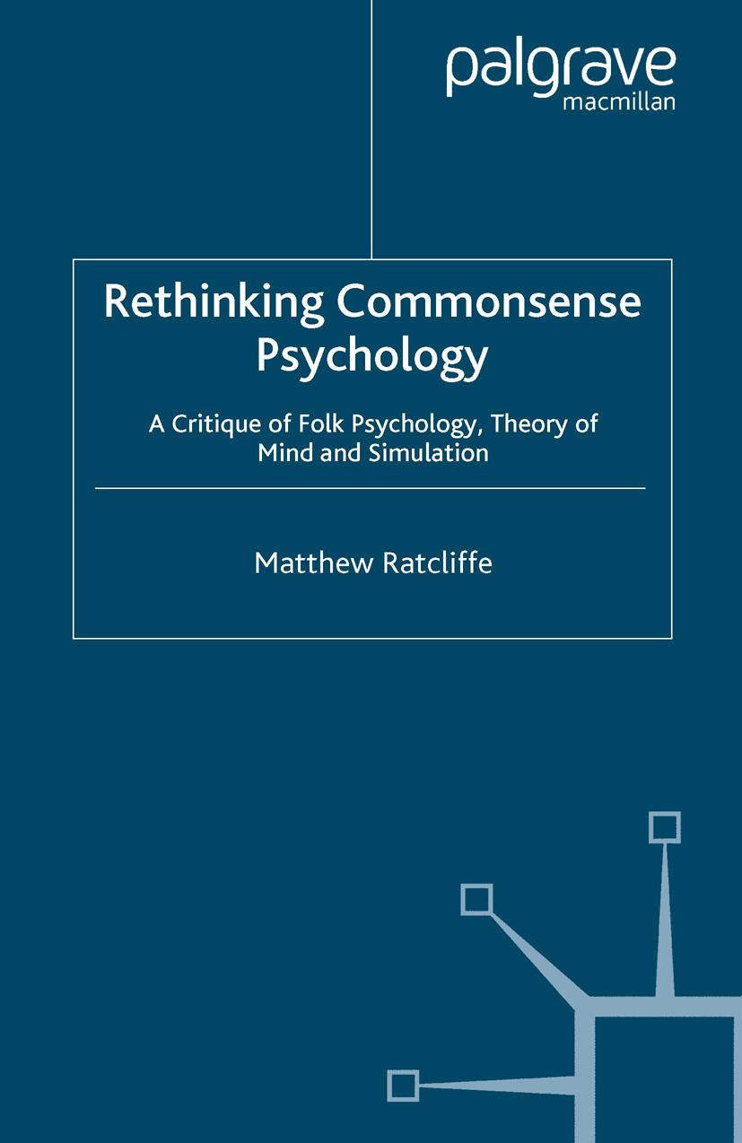 Ratcliffe, Matthew - Rethinking Commonsense Psychology, ebook