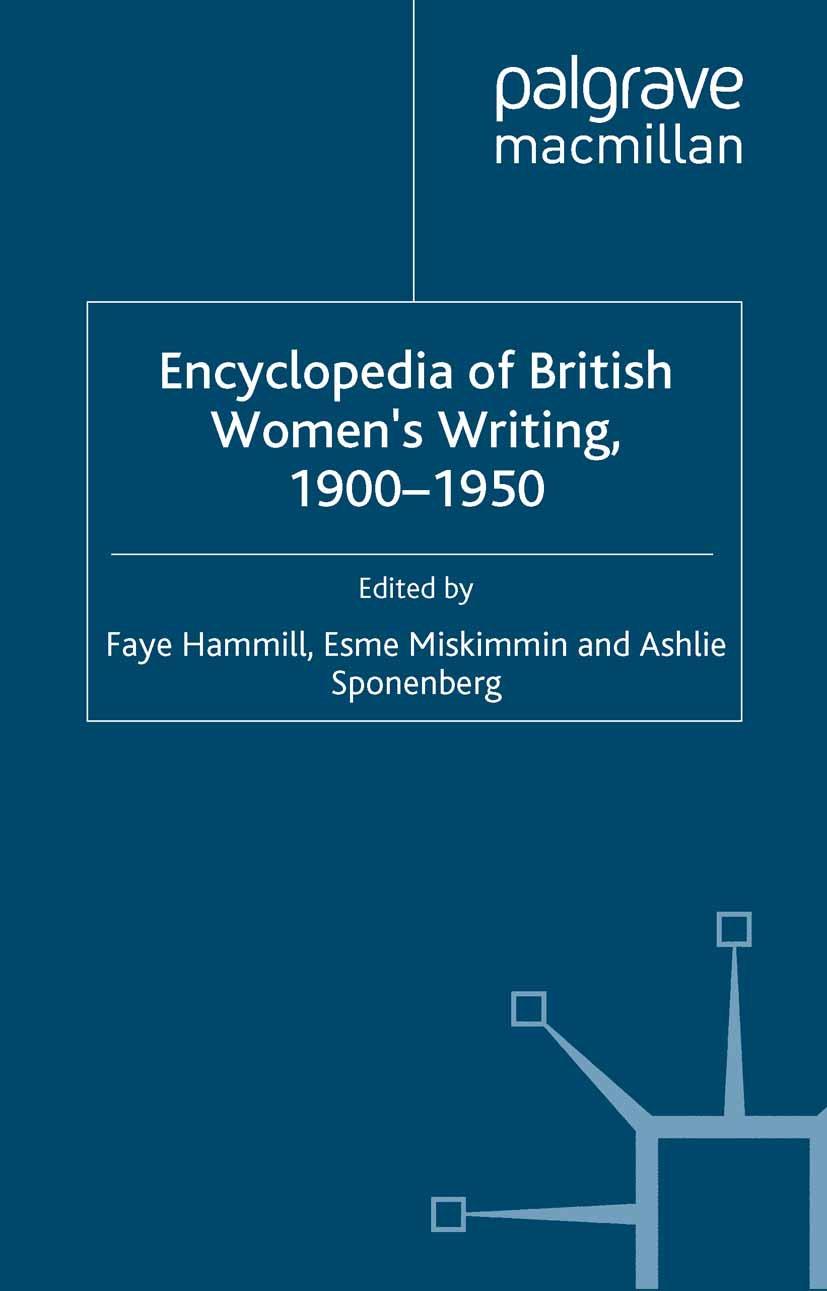 Hammill, Faye - Encyclopedia of British Women's Writing 1900–1950, ebook
