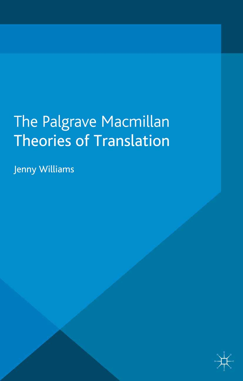 Williams, Jenny - Theories of Translation, ebook
