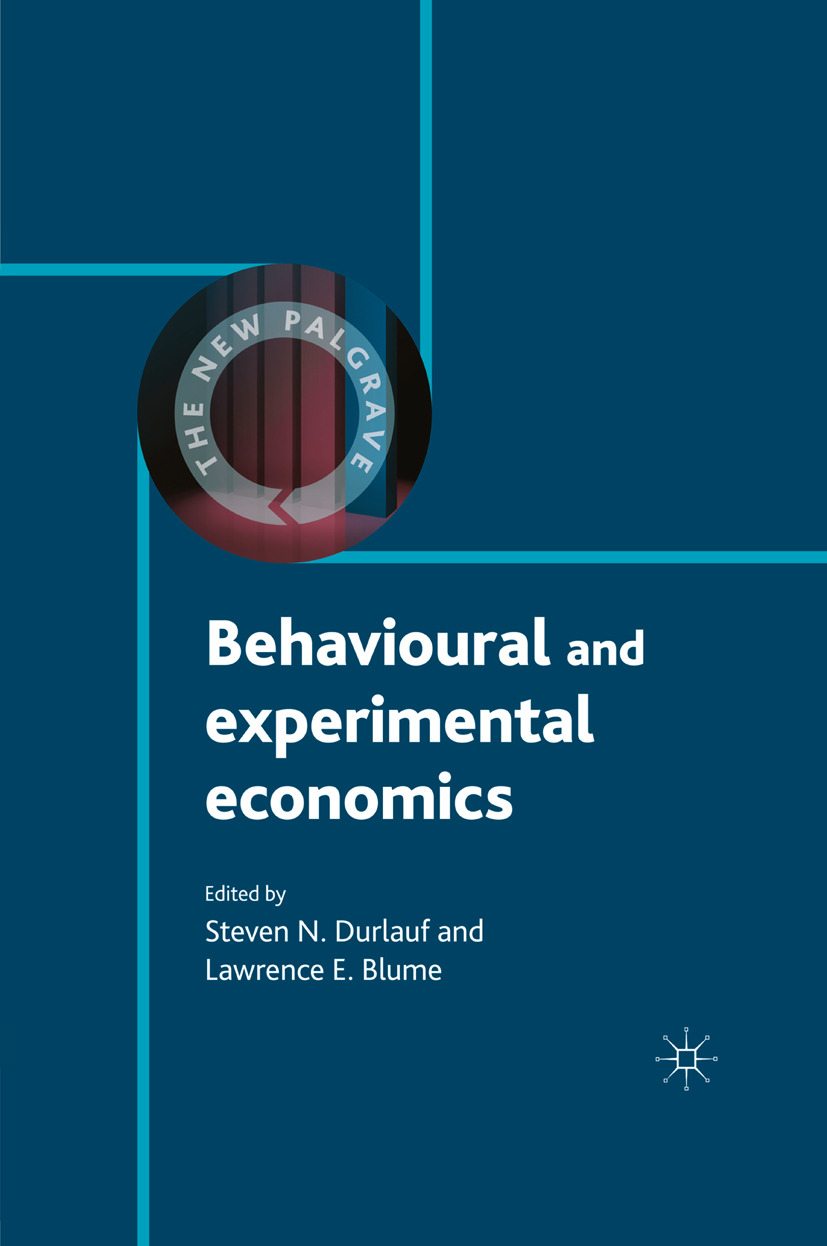 Blume, Lawrence E. - Behavioural and Experimental Economics, ebook