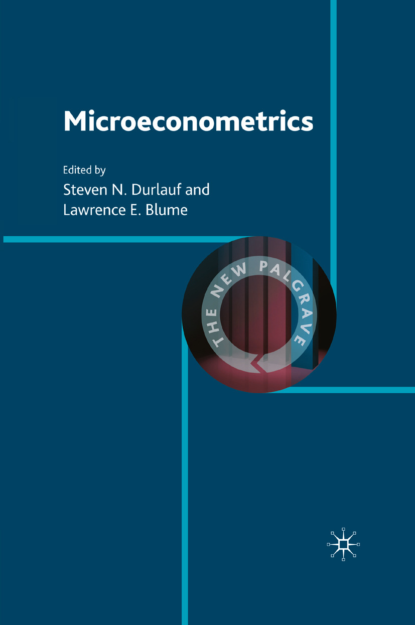 Blume, Lawrence E. - Microeconometrics, ebook