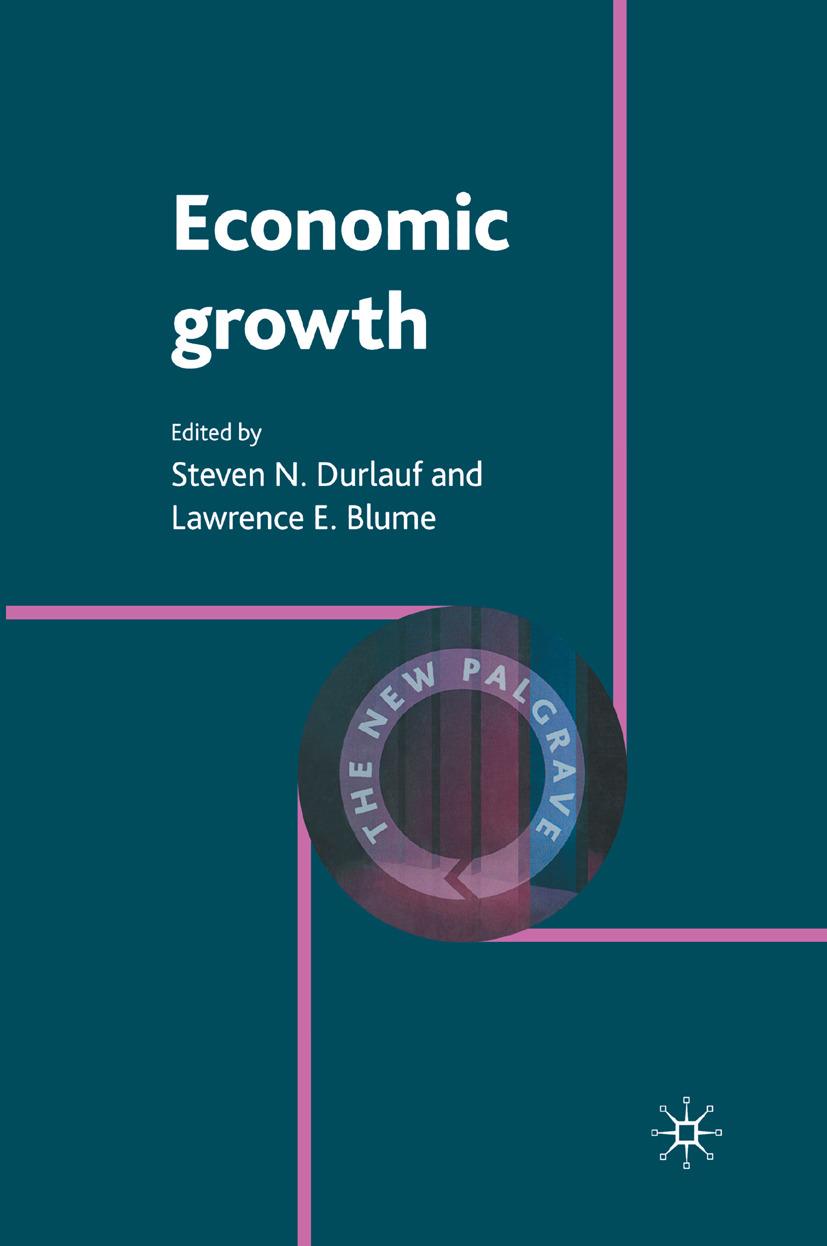 Blume, Lawrence E. - Economic Growth, ebook