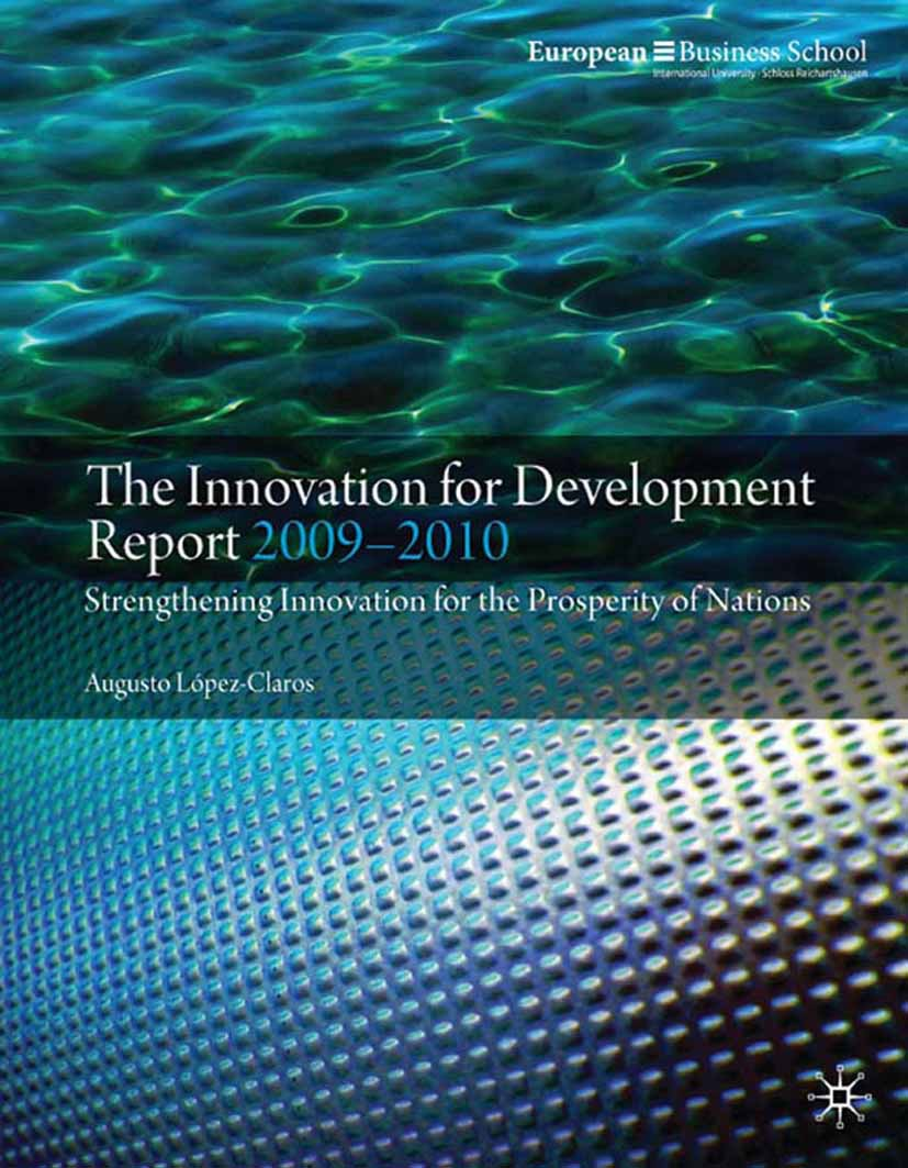 López-Claros, Augusto - The Innovation for Development Report 2009–2010, ebook