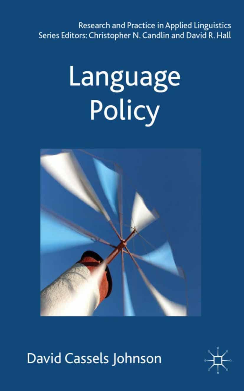 Johnson, David Cassels - Language Policy, ebook