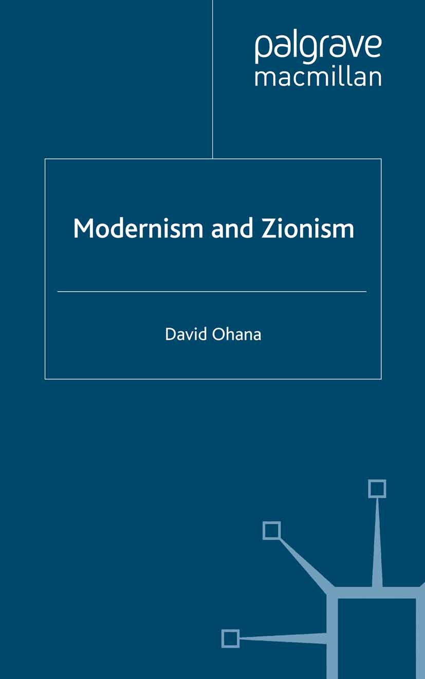 Ohana, David - Modernism and Zionism, ebook