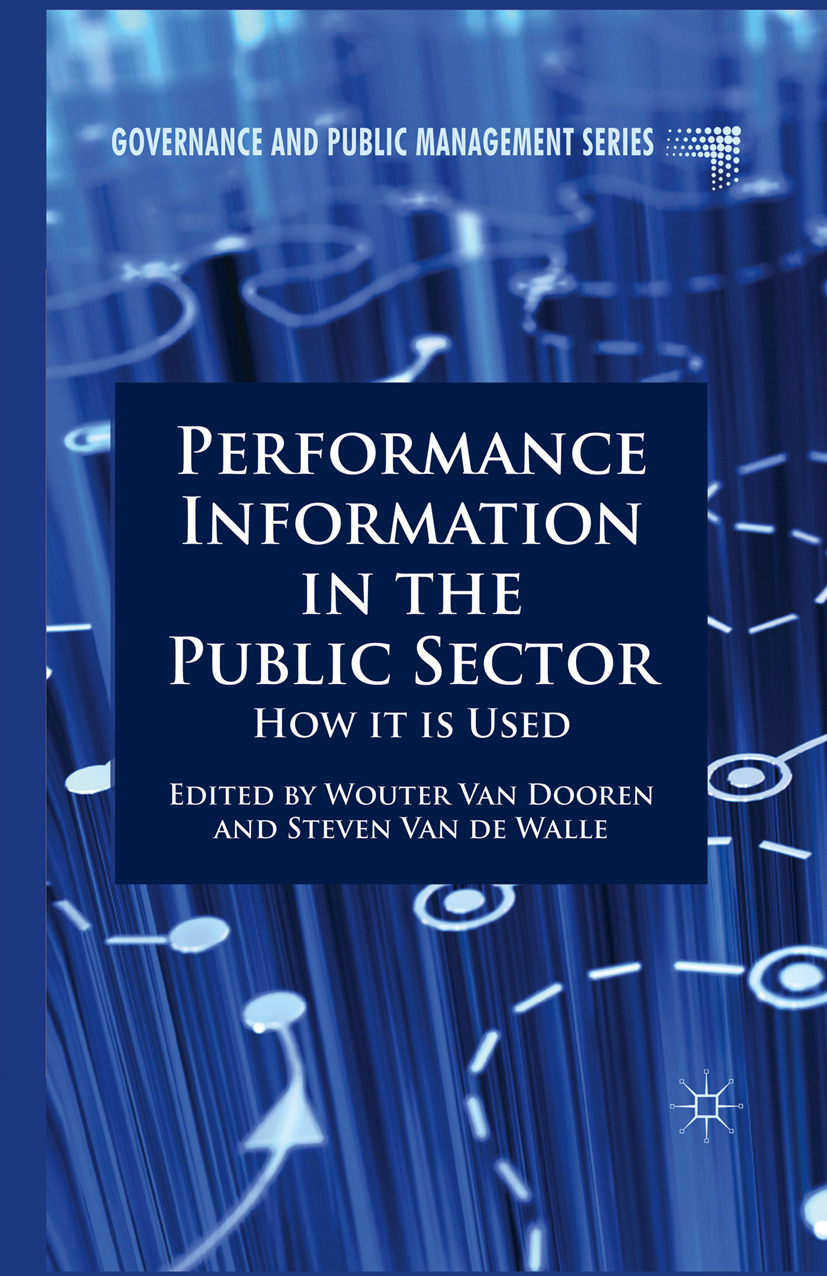 Dooren, Wouter - Performance Information in the Public Sector, ebook